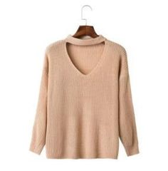 LF-45-662 European station fashion multi color V collar sets of leisure and easy sweater