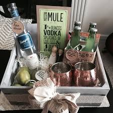 Image result for moscow mule gift basket set