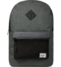 Black Crosshatch/Black Heritage Backpack