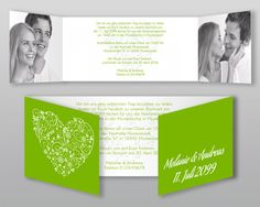 #Einladungskarte #Hochzeit #wedding #love #bride #green #selbstgestalten #herz #ornament #Ja #justmarried #card #karte #heiraten #braut #leben