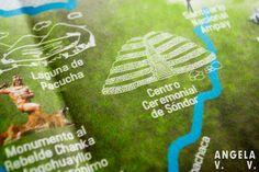 Detalle de mapa Caminos de Cultura y Aventura