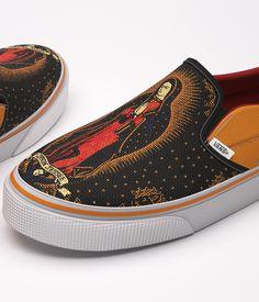 Vans & Santa Cruz Skateboards Collaboration by 3D Noguera, via Behance