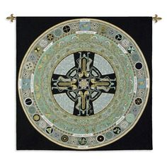 Fine Art Tapestries Celtic Mandala Wall Tapestry - 4559-WH