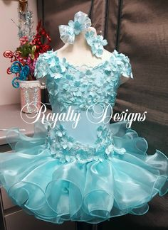 Beauty Pageant Custom Designs by Royalty Designs. See website for placing your custom order www.royaltydesigns.net