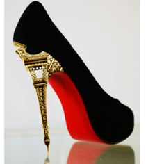 Louboutins- crazy heel
