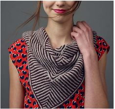 Resistance Shawl - Knitscene Accessories 2013