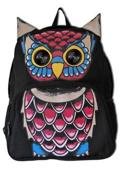 Owl Speaker Backpack