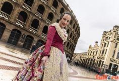 Vanesa Ramos, fallera mayor 2016 de Padre Alegre | Actualidad Fallera - portal dinámico sobre las Fallas de Valencia.