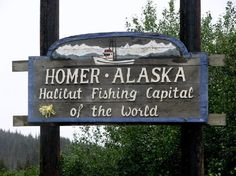Homer, AK: Tom caught 94lb Halibut the first year. Now that's an interesting fish!