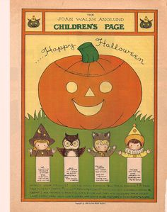 What magazine were these in?  I remember   them being in a magazine my grandparents would get and I always loved the children's page!