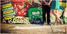 Engagement shoot at the Wynwood Walls #Downtown #Miami #graffiti