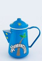 Funky giraffe tea pot - 0599 African Crafts, African Art, Watering Can, Giraffe, Tea Pots, Goodies, Arts And Crafts, Hand Painted, Tableware
