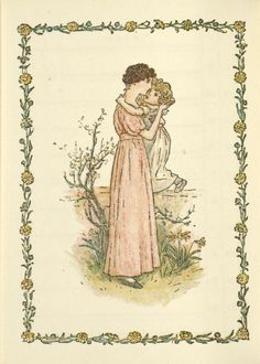 April - Kate Greenaway's Almanack for 1897