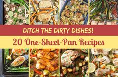 20 Simple One-Sheet-Pan Recipes for Busy Weeknights