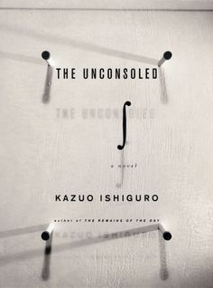 The Unconsoled  Author: Kazuo Ishiguro  Publisher: Vintage  Publication Date: October 1, 1996  Genre: Fiction  Design Info:  Designer: Chip Kidd™  Photographer: Geoff Spear