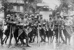 French soldiers in Paris, 1914