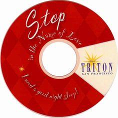 Hotel Triton. San Francisco. USA (printed on a CD)