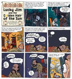 Lucky Jim Episode A Traditional Gypsy Tale. In The Phoenix Issue My Wife Is, Phoenix, Gypsy, Lost, Traditional, Comics, Comic Book, Cartoons, Comic Books