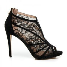 Krajkové sandále POTI Peeps, Peep Toe, Shoes, Fashion, Moda, Zapatos, Shoes Outlet, Fashion Styles, Shoe