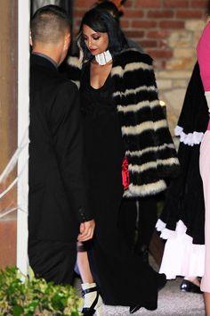 Nicole Richie as Cruella de Vil at Kate Hudson's Halloween party.