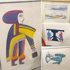 We've really been enjoying the opportunity to catalog a private collection of Canadian/Inuit art! Need help placing and hanging or…