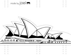 Sydney Opera House   Love this blog - Made by Joel