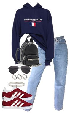 """""""Untitled #5585"""" by theeuropeancloset on Polyvore featuring adidas Originals, Alexander Wang, ASOS and Cartier"""