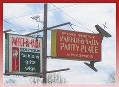 Parrot-fa-Nalia -    A strange combination of activities in Wichita, Kansas