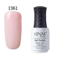 HNM 8ml UV Nail Gel Polish Quick Dry Gel Nail Polish Gel Lak Long Last Gelpolish Vernis Semi Permanent Gel Varnish Lacquer