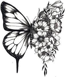 flower half sleeve tattoos for women outline - flower half sleeve tattoos for women outline Cool Art Drawings, Tattoo Drawings, Body Art Tattoos, Small Tattoos, Tattoos On Ribs, Random Tattoos, Spine Tattoos, Tattoo Sketches, Unique Tattoos