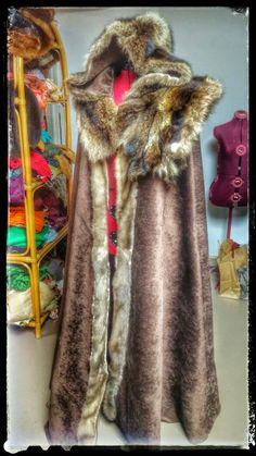 Fur Cloak, Viking Cloak, Game of Thrones Costume, Vikings, Fur Capelet, Medieval Cloak, Norse Costume, Heathen Cloak, Festival Wear by PrimalForged on Etsy https://www.etsy.com/listing/106969132/fur-cloak-viking-cloak-game-of-thrones