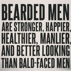 I love thee beards!