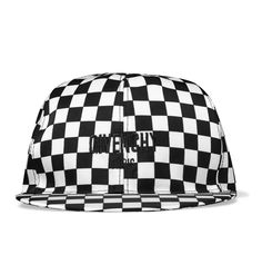 The chequerboard motif is synonymous with youth culture, skate and streetwear, as is the humble baseball cap, and <a href='http://www.mrporter.com/mens/Designers/Givenchy'>Givenchy</a> has combined the two. This Italian-made hat is cut from lustrous monochrome shell detailed with designer embroidery and lined in cotton for comfort. Adjust the back tab for a custom fit.