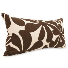 Majestic Home Goods 85907220616 Chocolate Plantation Small Pillow 12x20