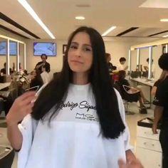 Long To Short Hair, Long Bob, Short Hair Styles, Hair Cutting Videos, Hair Videos, Bobs Video, Mg Hair Design, Corte Bob, Page Boy