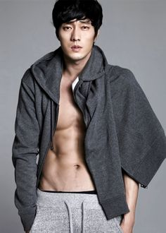 So Ji Sub is so often fully clothed; I just don't understand it.