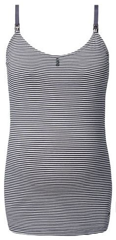 A proper pregnancy wardrobe should not be without good basics.  You can start wearing this Esprit nursing top during the last months of your pregnancy. Once your baby is born, the convenient nursing clips allow for easy breastfeeding, without having to take off your top. #noppies #maternity #pregnant #zwanger #stylethebump #maternityfashion #loungewear #ss15 www.noppies.com