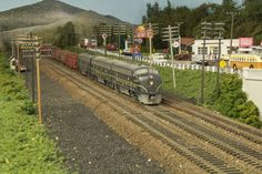 """Modeling the South Pennsylvania Railroad (""""The Hilltop Route"""") in its final days of steam. Description from model-railroad-hobbyist.com.…"""