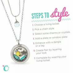 Create the perfect custom gift for your loved one with Origami Owl custom jewlery!   Www.lucille.origamiowl.com