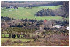Buzzard Rock trail in Front Royal, VA