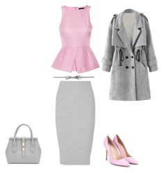 Untitled #543 by adancetovic on Polyvore featuring TIBI, James Perse and Gianvito Rossi