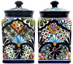 talavera kitchen canisters - Google Search