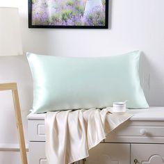 22 Momme Terse Silk Pillowcase With Zipper Closure MSP007