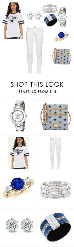 """cowboys styles"" by chaniyahrobertson70 on Polyvore featuring Dooney & Bourke, Forever 21, rag & bone, Sole Society and GUESS"