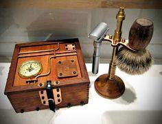 DIY Idea: Handmade Steampunk Shaving Box