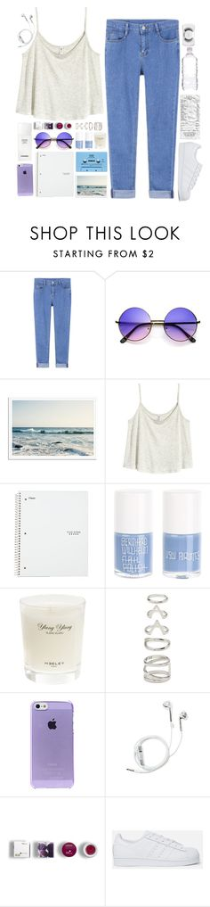 """Başlıksız #387"" by kubra-62 ❤ liked on Polyvore featuring H&M, CASSETTE, Uslu Airlines, Heeley Parfums, Chanel, Forever 21, PhunkeeTree, Korres, adidas Originals and MAC Cosmetics"
