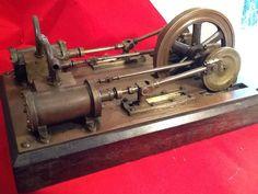 Steam MILL Engine Model | eBay