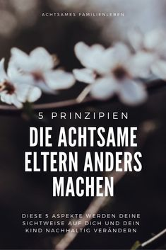 5 Prinzipien, die achtsame Eltern anders machen - zweitöchter 5 principles that mindful parents do differently - two daughters Parenting Books, Gentle Parenting, Parenting Advice, Kids And Parenting, Parent Tattoos, Psychology Major, Parents, Two Daughters, Raising Kids