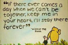 Love this quote from Pooh..