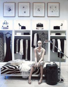 Deborah French Designs – Retail - New Deko Sites Boutique Design, Boutique Decor, Hotel Boutique, Decoration Shop, Clothing Store Design, Fashion Showroom, Visual Merchandising Displays, Fashion Merchandising, Store Layout